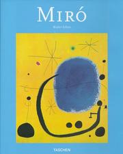 Cover of: Joan Miró, 1893-1983 | Walter Erben