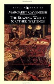 Cover of: The Blazing World and Other Writings | Margaret Cavendish