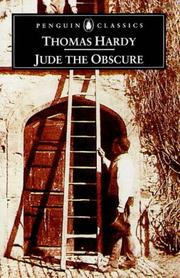 Cover of: Jude the Obscure by Thomas Hardy