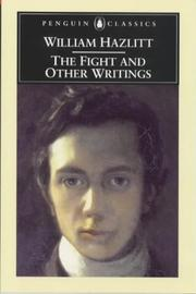 Cover of: The Fight and Other Writings | Willaim Hazlitt