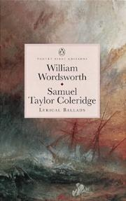 Cover of: Lyrical Ballads | William Wordsworth, Samuel Taylor Coleridge