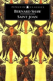 Cover of: Saint Joan by George Bernard Shaw
