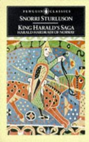 Cover of: King Harald's Saga: Harald Hardradi of Norway | Snorri Sturluson