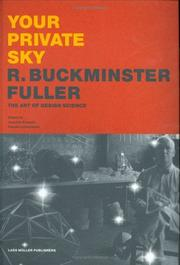 Cover of: Your private sky by R. Buckminster Fuller