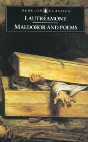 Cover of: Maldoror and Poems | Isidore Lucien Ducasse