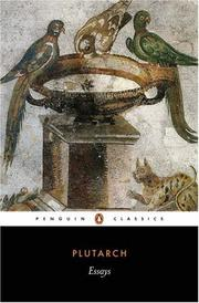 Cover of: Essays | Plutarch