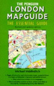 Cover of: THE PENGUIN LONDON MAPGUIDE | Michael Middleditch