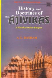 Cover of: History and Doctrines of the Ajivikas | A.L. Basham