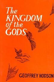 Cover of: The Kingdom of the Gods by Geoffrey Hodson
