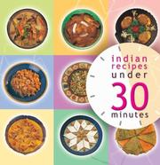 Cover of: Indian Recipies Under 30 Minutes | Master Chefs of India