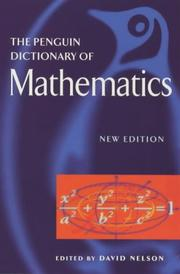 Cover of: Dictionary of Mathematics, The Penguin | David Nelson