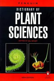 Cover of: The Penguin Dictionary of Plant Sciences | Jill Baily