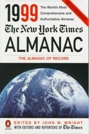 Cover of: The New York Times Almanac 1999 (Annual) | John W. Wright