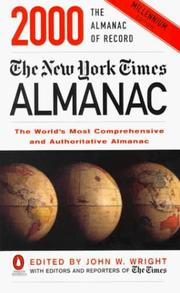 Cover of: The New York Times Almanac 2000 (New York Times Almanac (Paper), 2000) | John W. Wright