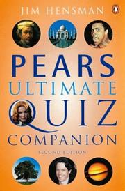 Cover of: Pears Ultimate Quiz Companion by Jim Hensman