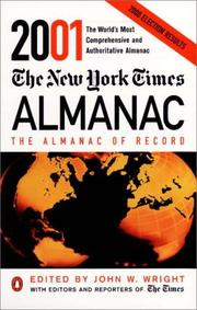 Cover of: The New York Times Almanac 2001 (New York Times Almanac) | John W. Wright