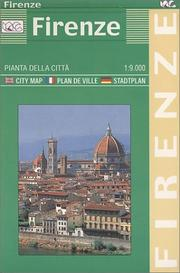 Cover of: Town Plan Firenze Greater | Litografia Artistica Cartografica
