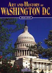 Cover of: Art & History of Washington DC | Bruce R Smith