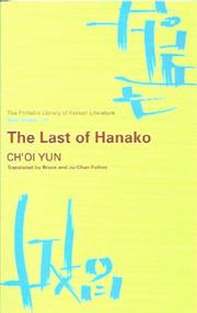 Cover of: The Last of Hanako | Yun Ch'oi