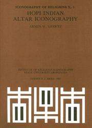 Cover of: Hopi Indian Altar Iconography | Armin W. Geertz