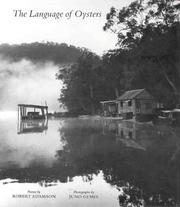 Cover of: The language of oysters | Adamson, Robert.