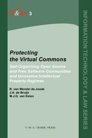 Cover of: Protecting the virtual commons by R. van Wendel de Joode