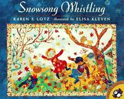 Cover of: Snowsong Whistling | Karen Elisa Lotz