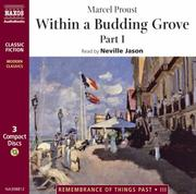 Cover of: Within a Budding Grove (Remembrance of Things Past, 3) by Marcel Proust