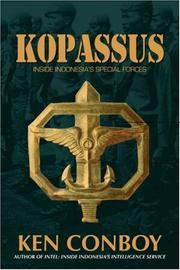 Cover of: Kopassus by Kenneth J. Conboy