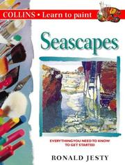 Cover of: Learn to Paint Seascapes by Ronald Jesty