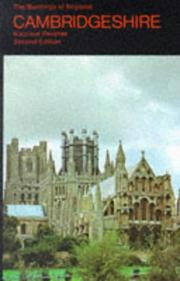 Cover of: Cambridgeshire (Buildings of England) | Nikolaus Pevsner