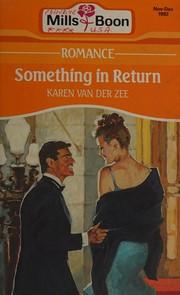 Something in return