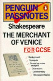 Cover of: Passnotes:The Merchant of Venice (Passnotes) | Millson