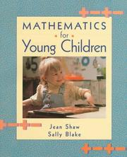 Cover of: Mathematics for young children | Jean M. Shaw