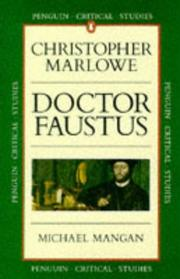 Cover of: Dr. Faustus | Mangan