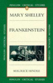 Cover of: Frankenstein | Maurice Hindle