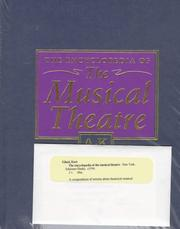 Cover of: The encyclopedia of the musical theatre by Kurt Gänzl
