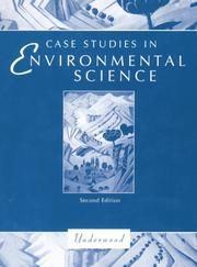 Cover of: Case studies in environmental science | Larry S. Underwood