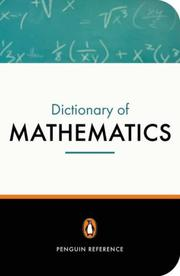 Cover of: The Penguin Dictionary of Mathematics | David Nelson