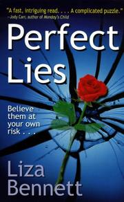 Cover of: Perfect lies by Liza Bennett