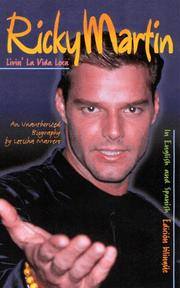 Cover of: Ricky Martin by Letisha Marrero