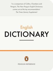 Cover of: The Penguin English Dictionary | Robert Allen