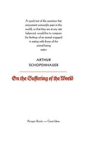 Cover of: On the Suffering of the World | Arthur Schopenhauer