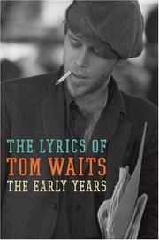 Cover of: The Early Years by Tom Waits