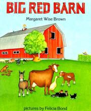 Cover of: Big red barn (BookFestival) | Margaret Wise Brown