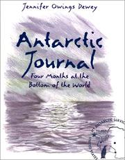 Cover of: Antarctic Journal by Dewey