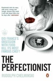 Cover of: Perfectionist | Rudolph Chelminski