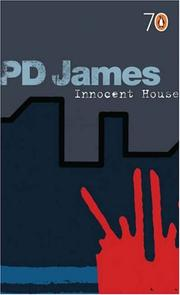 Cover of: Innocent House | P. D. James