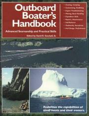 Cover of: The Outboard Boater's Handbook | David R. Getchell