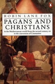 Cover of: Pagans and Christians | Robin Lane Fox
